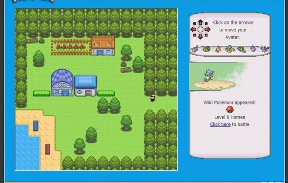 Pokemon rpg game