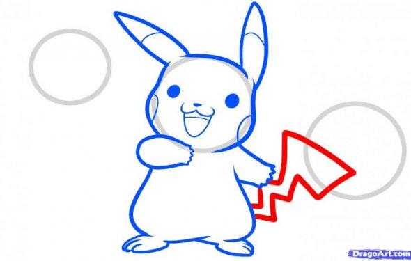Как нарисовать покемонов Сниви