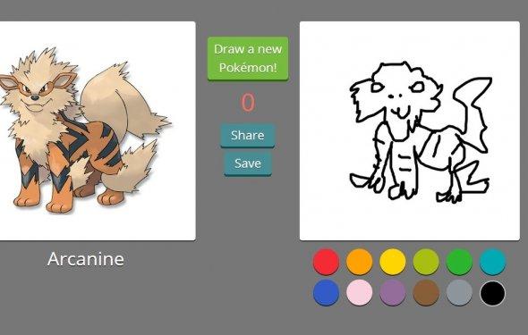Рисуем покемонов из первого