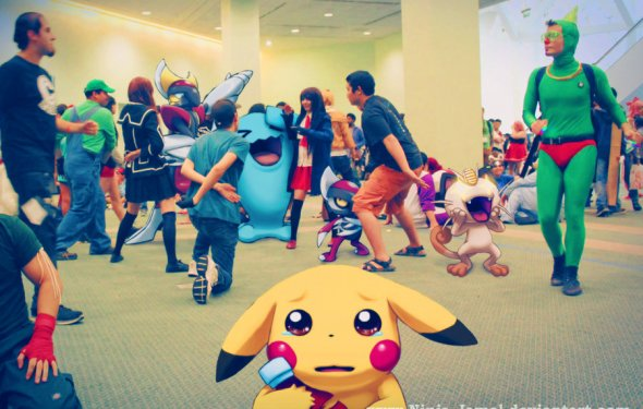 Wild Pokemon Anime Expo 2013